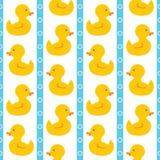 简单的逗人喜爱的鸭子 免版税图库摄影
