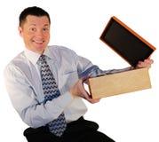 简单的配件箱 库存图片