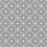 简单的重复的几何纹理 库存图片