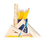 简单的铅笔 免版税库存图片