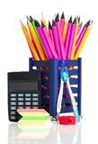 简单的铅笔 免版税库存照片