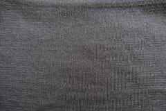 简单的黑聚酯stockinet表面特写镜头  免版税图库摄影