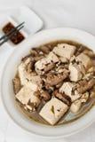 简单豆腐的纤巧 库存图片