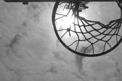 箍和太阳 免版税图库摄影
