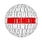 算术 图库摄影