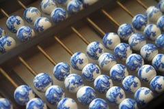 算盘古老汉语 免版税库存图片