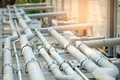 管子冷却系统 库存图片