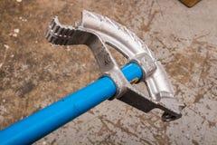 管子弯机工具- 2 库存照片