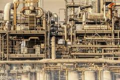 管子网络在工厂 库存图片