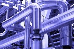 管子,管,机械,设备工业力量 免版税图库摄影