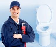 水管工。 免版税库存照片