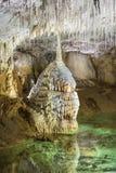 管状的钟乳石 库存照片