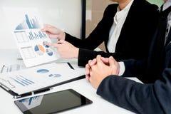 管理员商人财政审查员和秘书mak 免版税库存图片