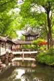 管理员瓷庭院谦逊的s苏州 库存图片