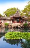 管理员瓷庭院谦逊的s苏州 免版税图库摄影