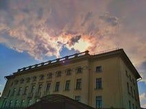 管理大厦市政厅 库存图片
