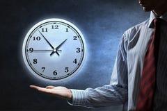 管理您的时间 免版税库存图片