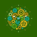 管理时钟概念 库存照片