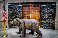 管理的中心在萨加门多国家资本,加利福尼亚的 库存照片