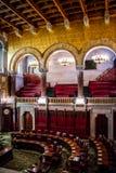 管理的中心在阿尔巴尼,纽约 免版税库存图片