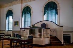 管理的老中心在宾夕法尼亚,费城 库存照片