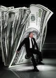 管理货币 免版税库存图片