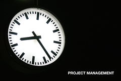 管理项目 免版税图库摄影