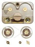 管磁带记录器零件 免版税图库摄影
