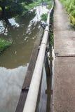管道制铅系统 库存图片
