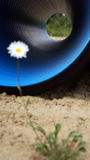 管道和环境 免版税库存照片