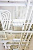 管道系统白色 免版税图库摄影