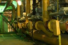 管道系统的处理水 免版税库存图片