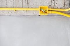 管道系统和电 免版税库存图片