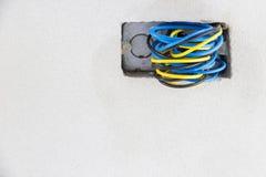 管道系统和电 库存图片