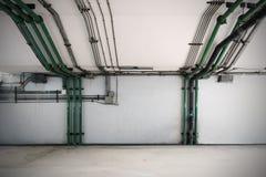 管道系统,工业设备,内部 库存照片