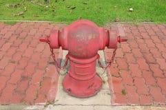 水管水消防龙头 免版税库存照片