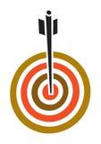 箭向量 图库摄影
