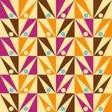 箭头无缝的三角摘要模式向量 库存图片