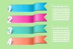 箭头infographics 图的,图表,介绍a模板 图库摄影