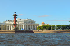 箭头彼得斯堡俄国圣徒 图库摄影