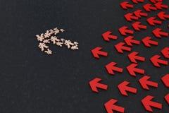 箭头的货币符号 库存图片