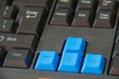 箭头(键盘) 免版税图库摄影