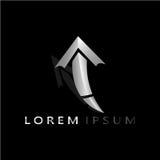 箭头LOREM IPSUM 2017 6 库存图片