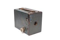 箱子果仁巧克力照相机 免版税库存图片