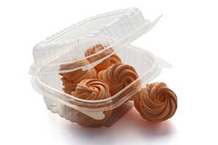 箱子用自创莓果蛋白软糖 和风 免版税库存照片