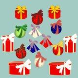 箱子礼物 背景把礼品装箱查出白色 库存图片
