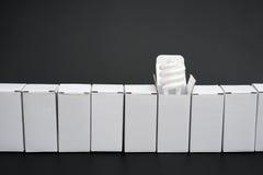 箱子线有一个的开放 免版税图库摄影