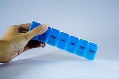 箱子药物 库存图片