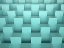 箱子, 3D 免版税库存图片