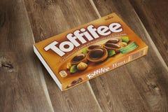 箱子Toffifee 库存照片